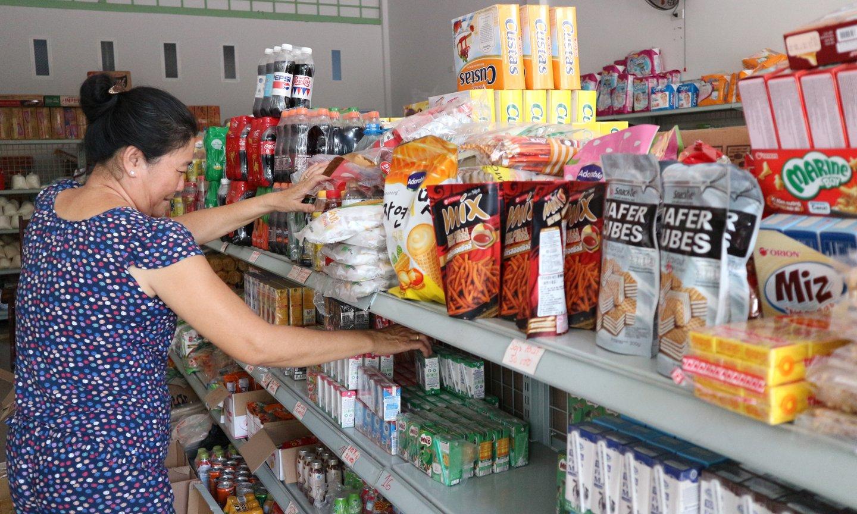 Nhiều cửa hàng tự chọn đang nở rộ tại TP. Mỹ Tho.