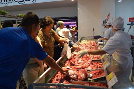 Thịt gia súc cũng nằm trong kế hoạch dự trữ hàng hóa phục vụ Tết.