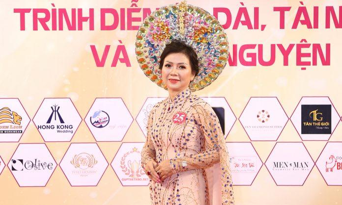 Người Tiền Giang đoạt danh hiệu Hoa hậu thương hiệu Việt ngành Mỹ phẩm