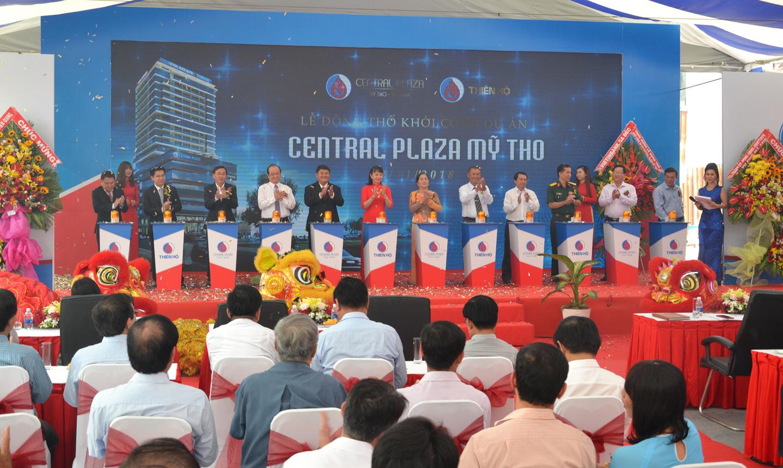 Việc khởi công Khách sạn Central Plaza Mỹ Tho  tạo nên bước đột phá của du lịch Tiền Giang.