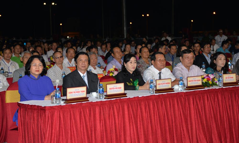 Lễ khai mạc có sự tham dự của đồng chí Đặng Thị Ngọc Thịnh, Ủy viên Ban Chấp hành Trương ương Đảng, Phó Chủ tịch nước.