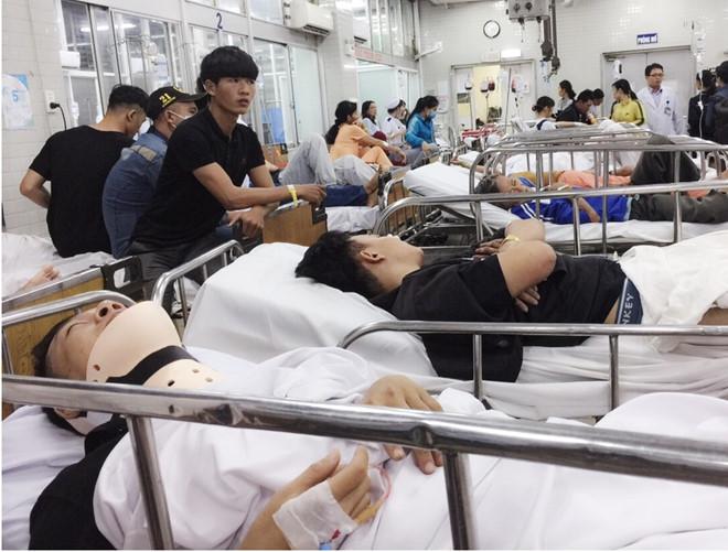 Vụ container tông hàng loạt xe máy: Nạn nhân ở Tiền Giang tình trạng xấu