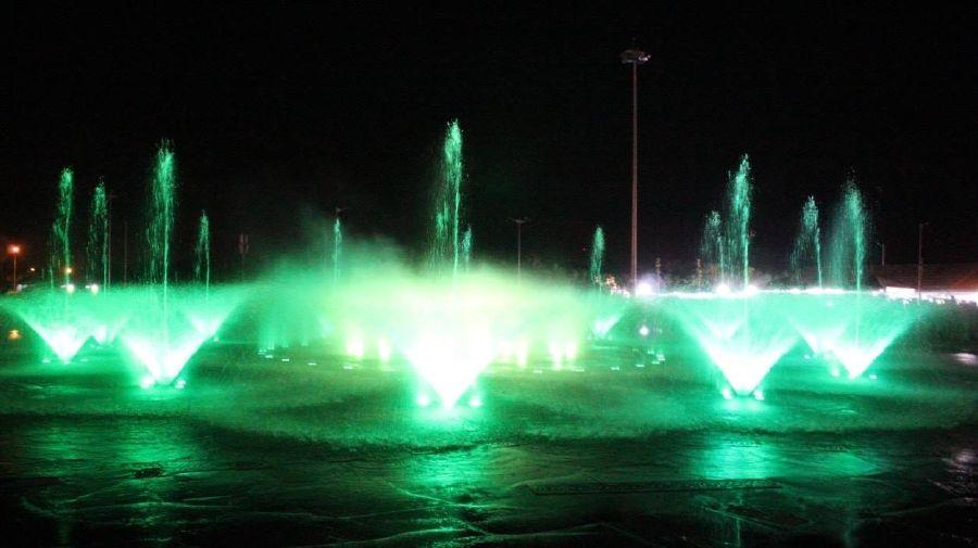 Tiền Giang lần đầu tiên biểu diễn nhạc nước huyền ảo và lung linh tại Quảng Trường