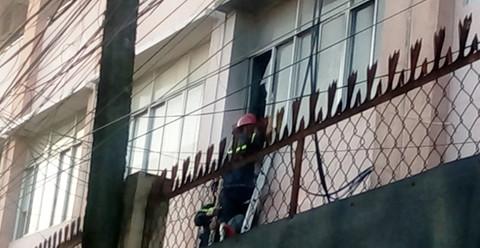 Cháy ở Bệnh viện Nguyễn Đình Chiểu, nguy cơ mất sạch dữ liệu phòng máy chủ - ảnh 1