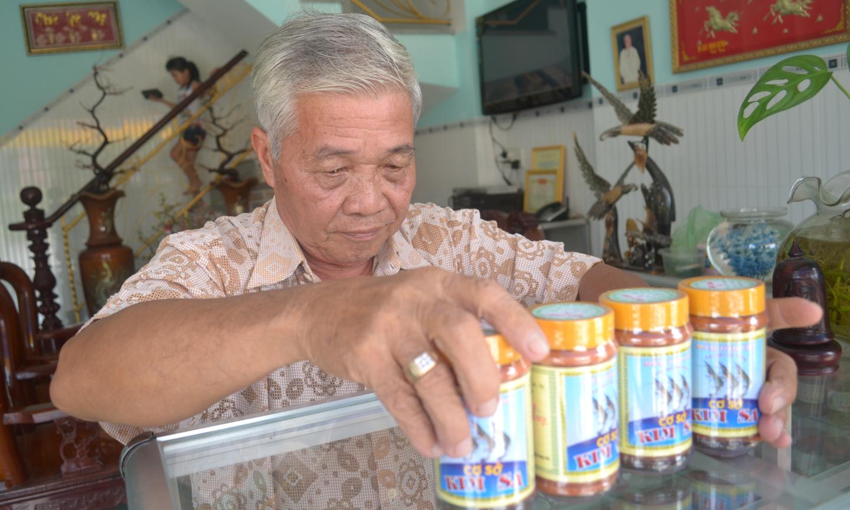 Mắm tôm chà Gò Công được ưu tiên lựa chọn theo Chương trình OCOP Tiền Giang.