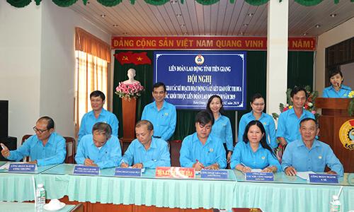 Liên đoàn Lao động Tiền Giang triển khai kế hoạch hoạt động năm 2019