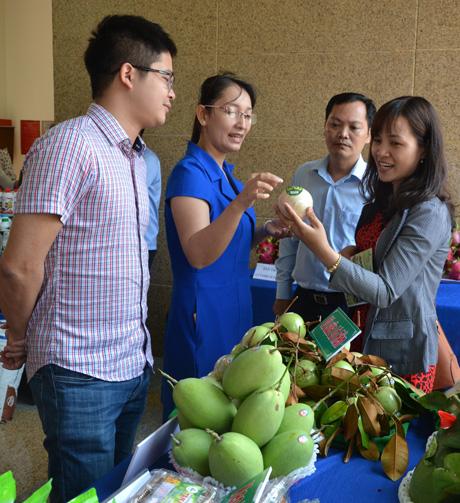 Một số loại trái cây của Tiền Giang.