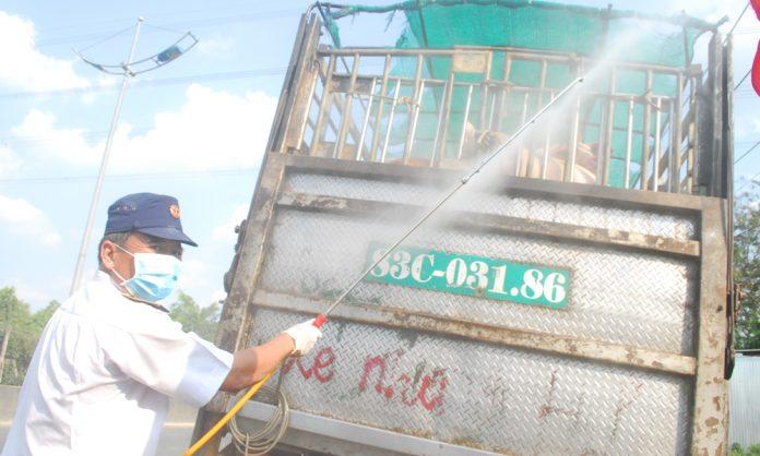Kiểm soát chặt nguồn heo qua địa bàn tỉnh Tiền Giang