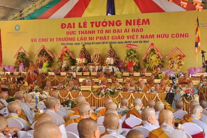 Tiền Giang đăng cai tổ chức Đại lễ tưởng niệm Thánh tổ Ni