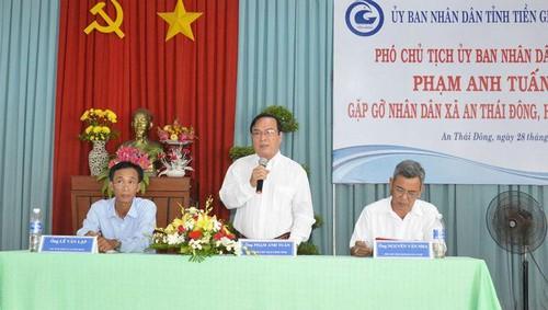 Tiền Giang: Phó chủ tịch tỉnh chỉ đạo xử lý triệt để vụ tiểu thương chợ Cổ Cò bị đe dọa