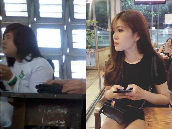 Màn lột x-ác ấn tượng của hotgirl Tiền Giang.