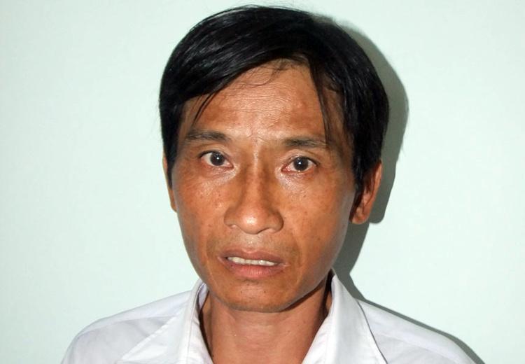 Phạm Văn Đèo tại cơ quan c-ông a-n. Ảnh: An Nam.