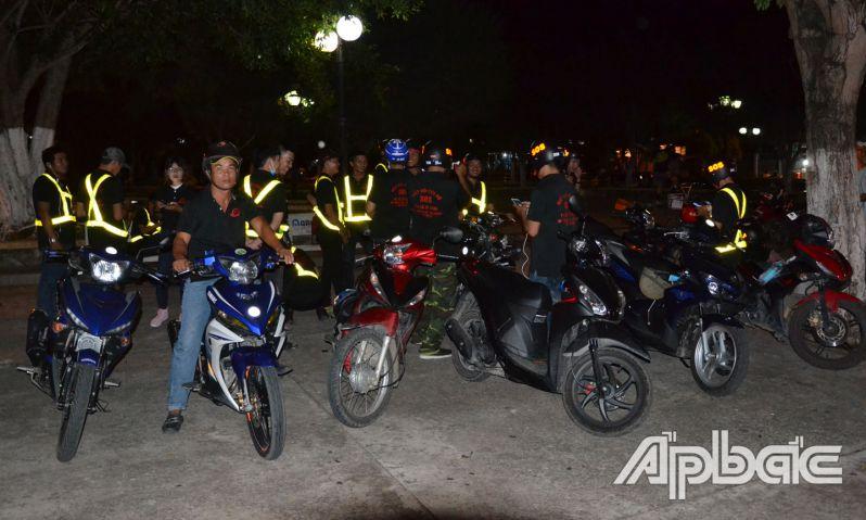 Biệt đội SOS Gò Công - những người hùng thầm lặng về đêm
