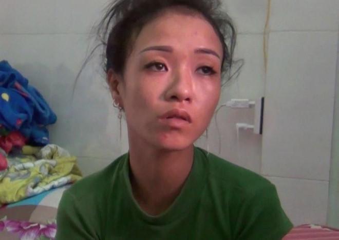 Diễm bị bắt giữ vào sáng 6/7. Ảnh: Minh Anh.