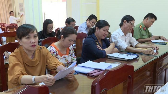 Quang cảnh cuộc họp triển khai kế hoạch tổ chức Chợ hoa Xuân Canh Tý 2020. Ảnh: Thanh Liêm