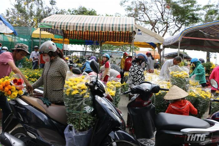 Chợ hoa Xuân Canh Tý 2020 sẽ được tổ chức tại khu vực Quảng trường tỉnh Tiền Giang. Ảnh: Phan Quyền
