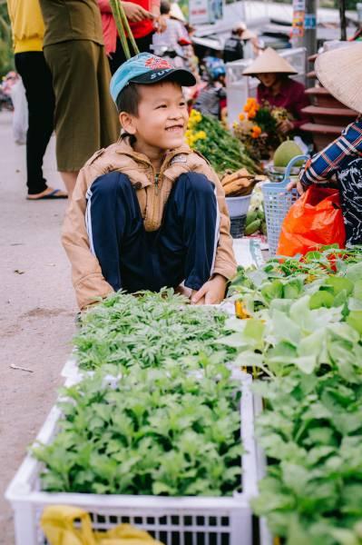 Nhộn nhịp chợ quê miền Tây - Đi sớm, kẻo hết đồ ăn nhịn đói à nghen! - Chợ Tân Hội -Cai Lậy